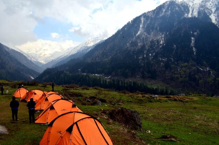 Camp Site: Kalkatiyadhaar