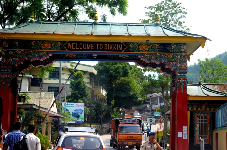 Entry to Sikkim